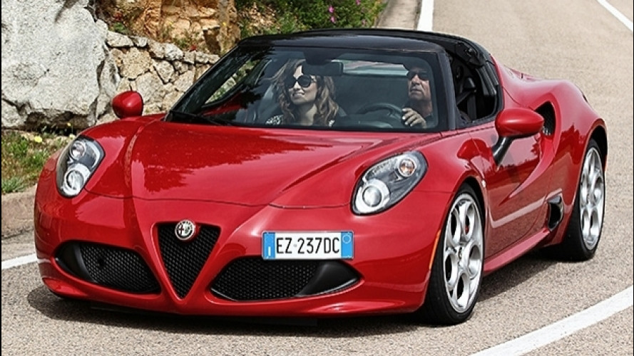 Alfa Romeo 4C per un weekend, quanto costa?
