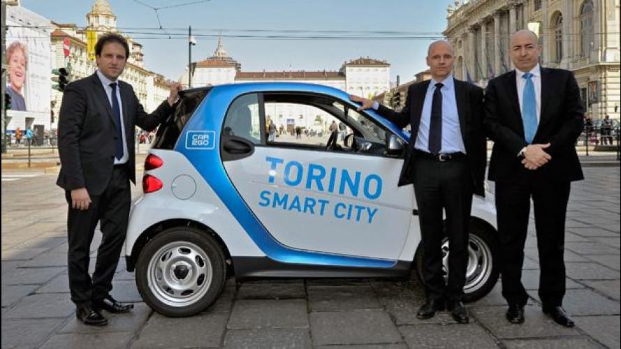 car2go è a Torino con una flotta che arriverà a 450 smart