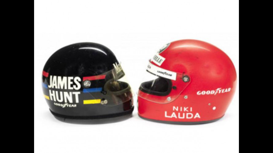 [Copertina] - Rush, all'asta i caschi di James Hunt e Niki Lauda