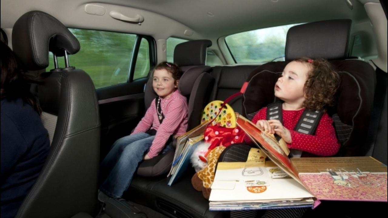 [Copertina] - Bambini in auto, i 10 errori da non fare mai