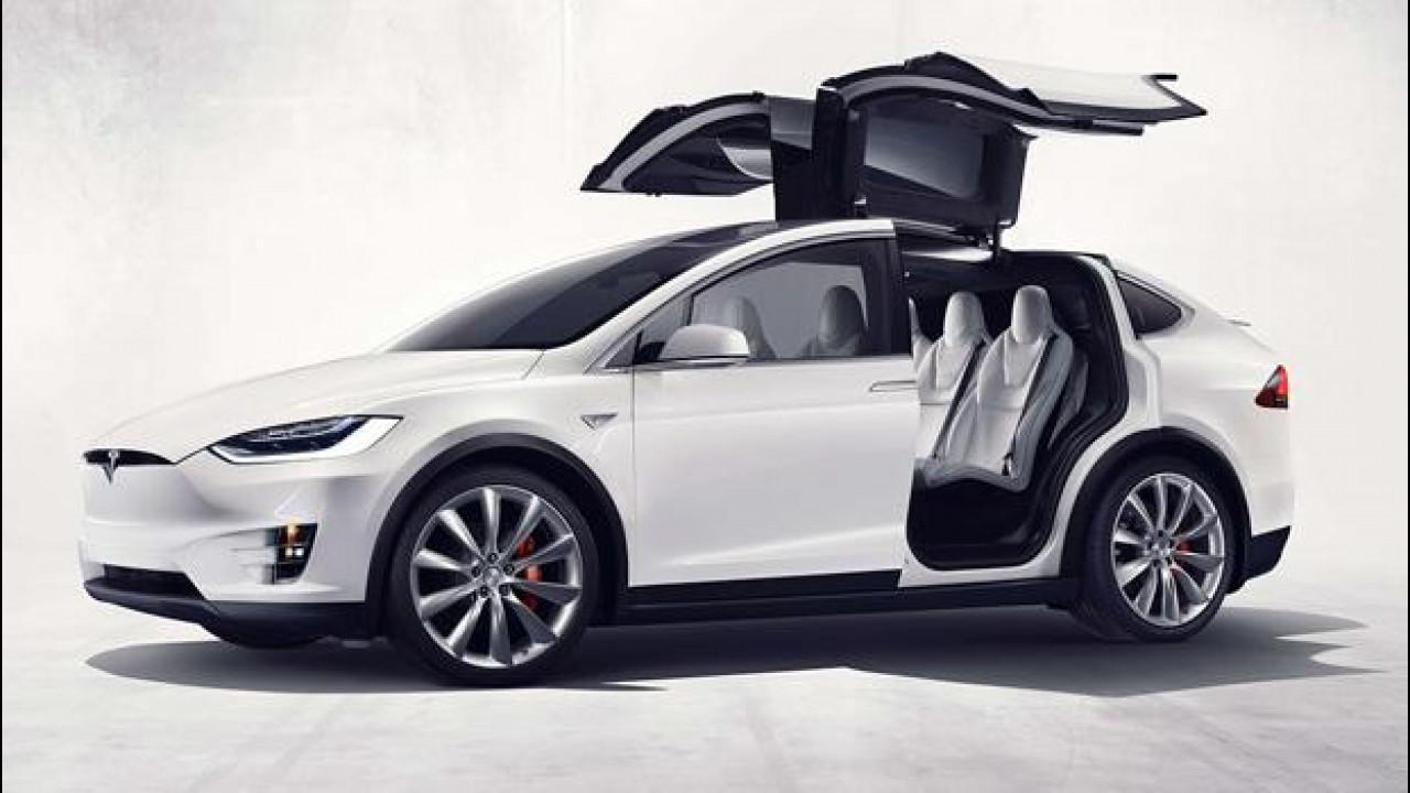 [Copertina] - Tesla Model X, il SUV elettrico che fa 400 km [VIDEO]