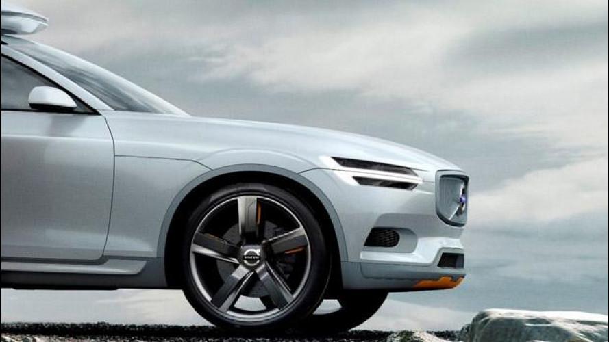 Volvo Concept XC Coupé, prove di nuova XC90