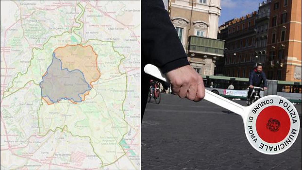 [Copertina] - Targhe alterne a Roma lunedì e martedì, chi può circolare