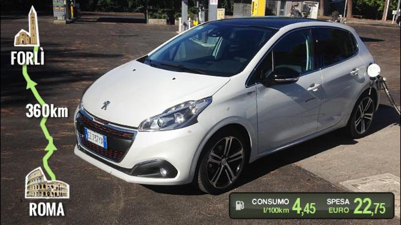 [Copertina] - Peugeot 208 PureTech 110, la prova dei consumi reali