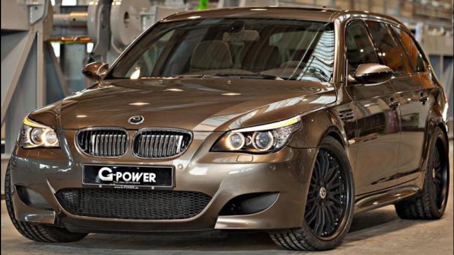 [Copertina] - BMW M5 Hurricane RR Touring By G-Power