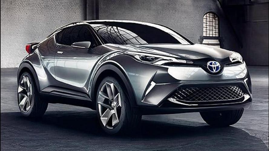 Salone di Francoforte: Toyota C-HR, la sorellina della RAV4