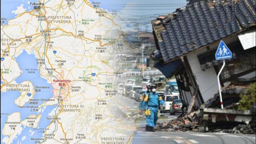 Terremoto di Kumamoto, le case auto reagiscono