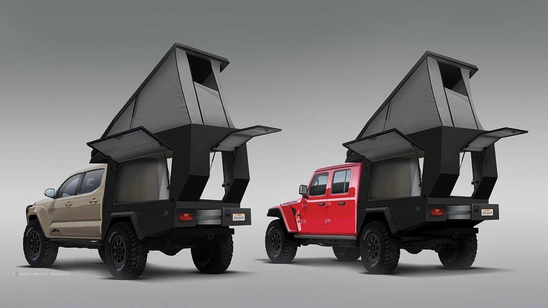 Truck Bed Camper >> Fiftyten Turns The Bed Of Your Truck Into The Ultimate Camper