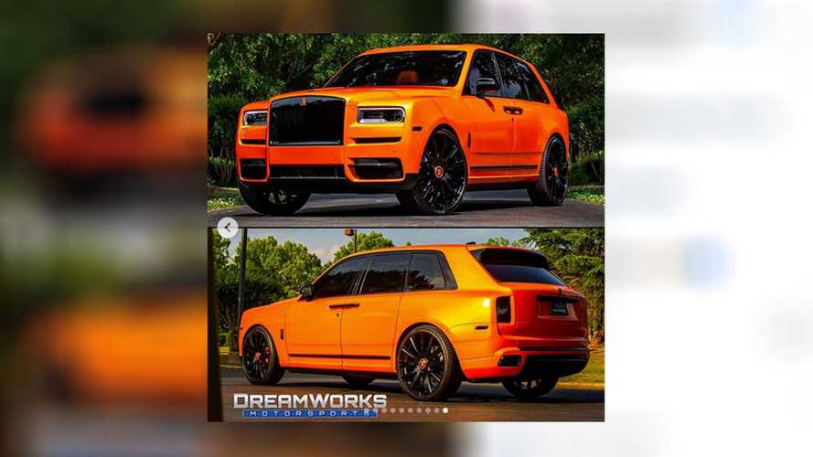 Who Do You Think Owns This Browns-Colored Rolls-Royce Cullinan?