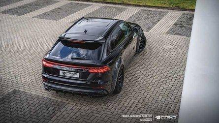 L'Audi Q8 devient incroyablement agressif grâce à Prior Design