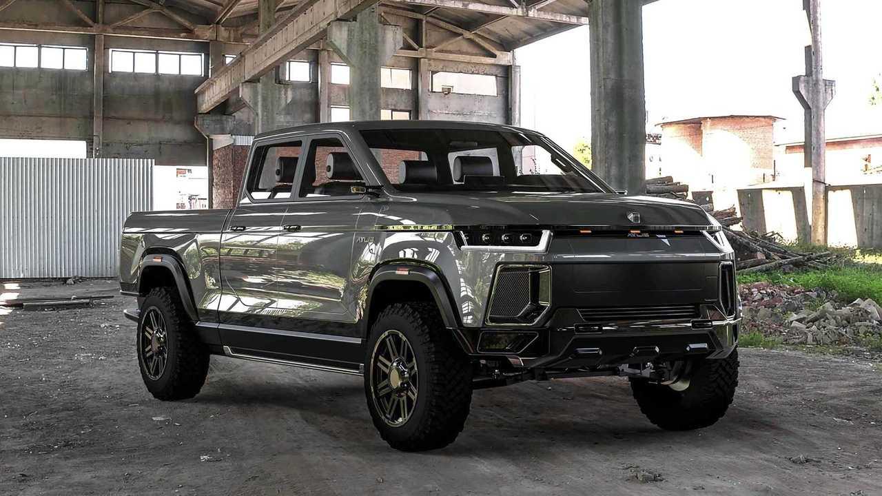 Atlis XT Electric Pickup Truck Platform Exposed