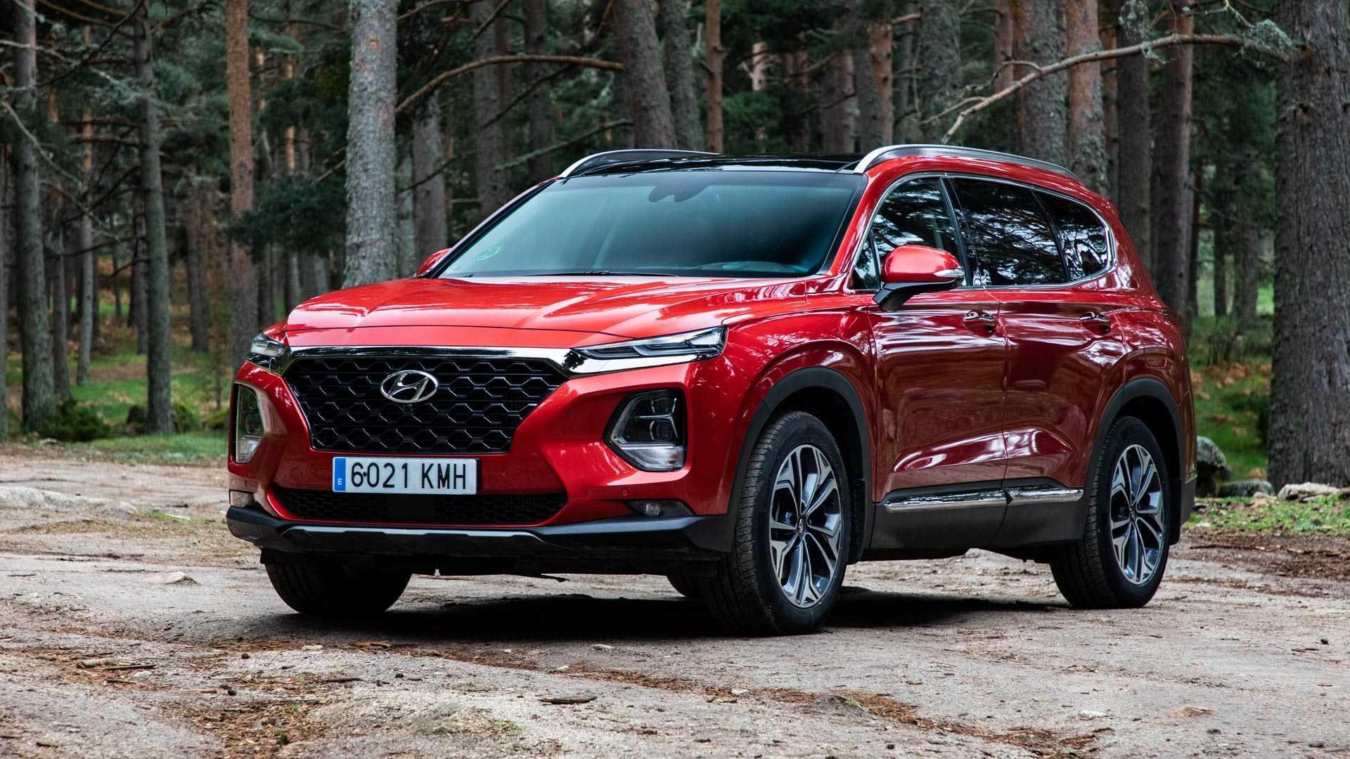 Hyundai Santa Fe 2020 Teaser Muy Suculento
