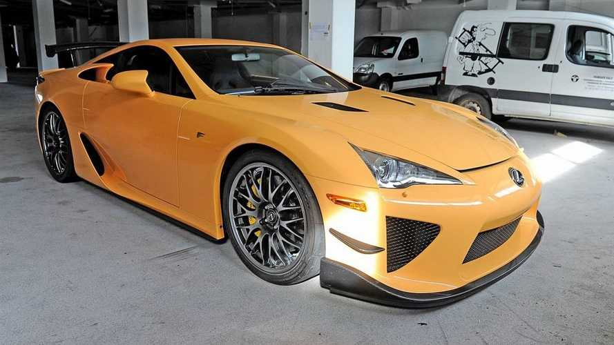 All'asta una Lexus LFA Nürburgring Edition