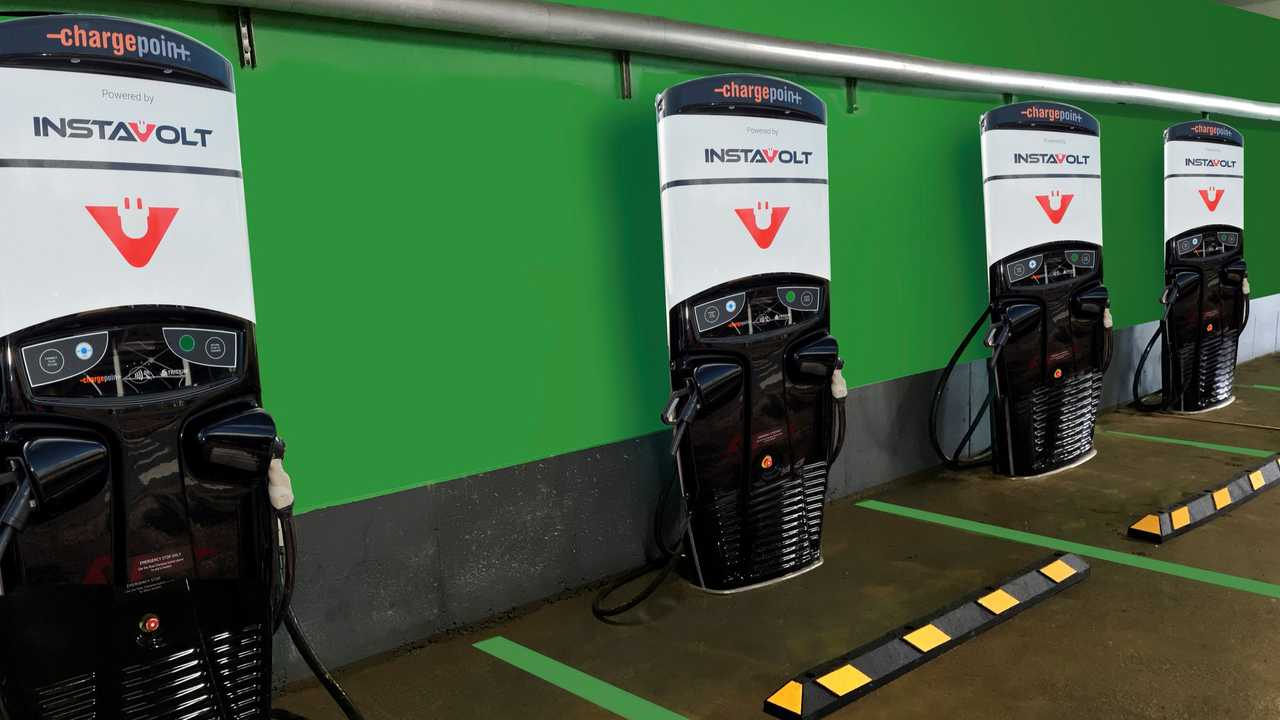 InstaVolt fast chargers