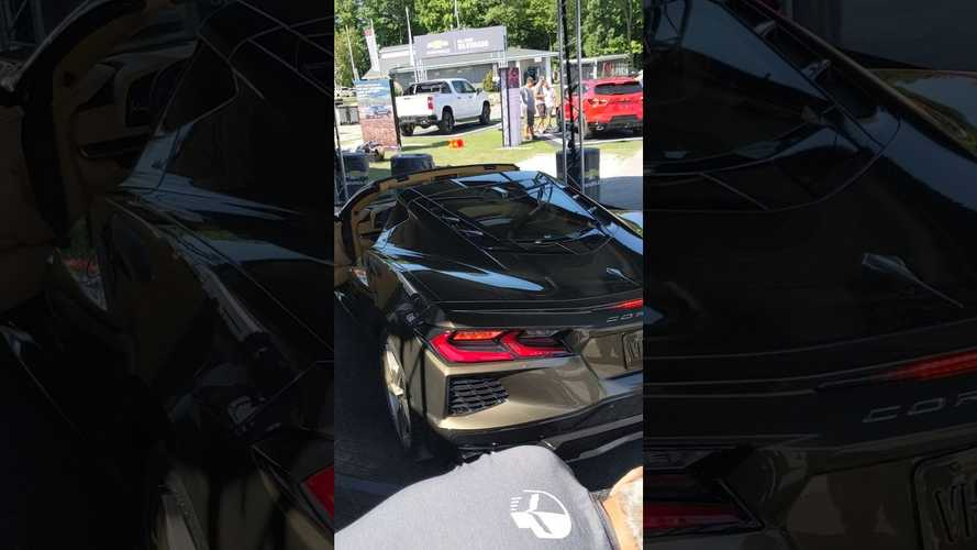 2019 Corvette Stingray'in motor sesini dinleyin