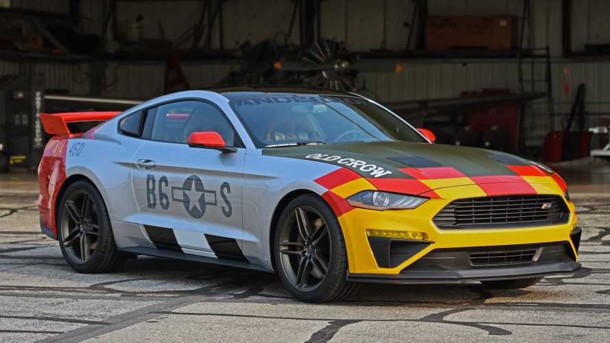 Ford 'Old Crow' Mustang GT Pays Tribute To P-51, Packs 710 HP