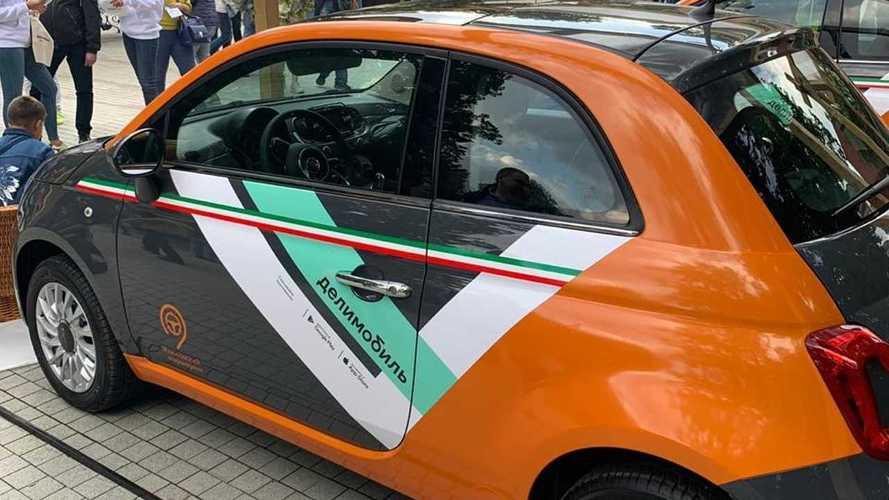 Fiat 500 для «Делимобиля»