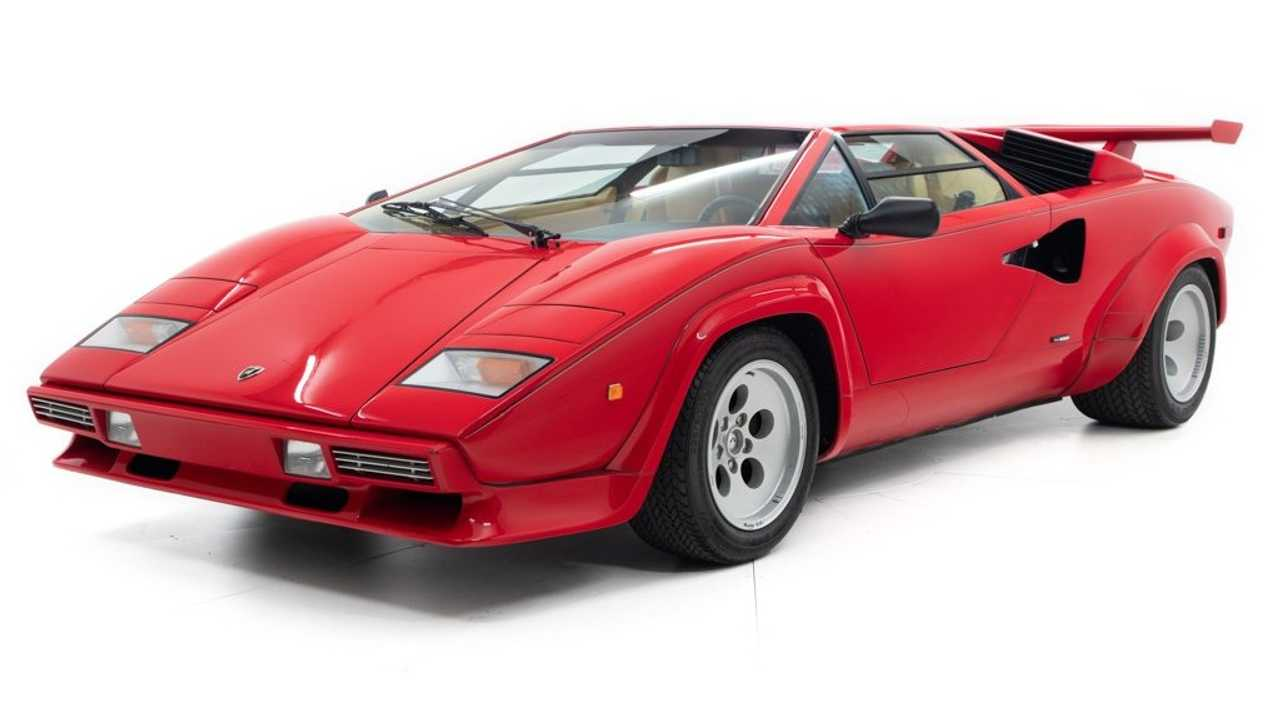 Mario Andretti's Lamborghini Countach for sale