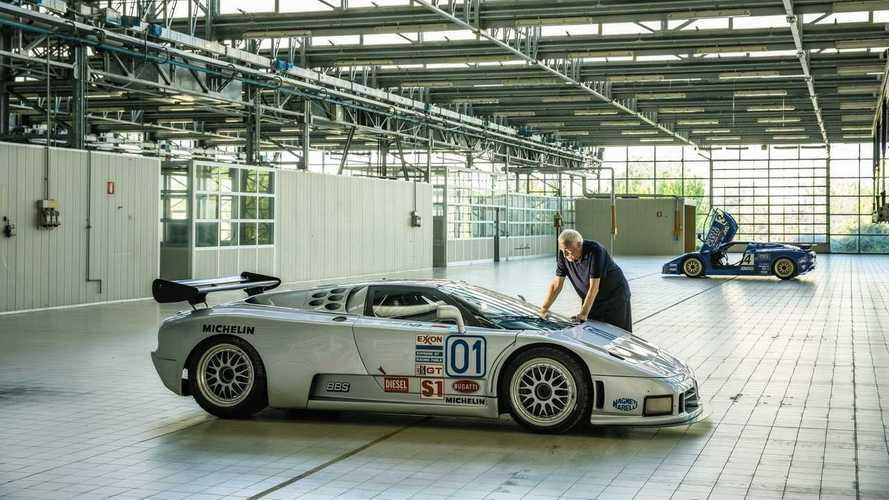 Interview - Romano Artioli : Le rêve d'une nouvelle Bugatti EB110