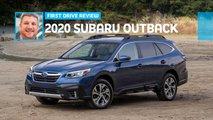 2020 subaru outback first drive