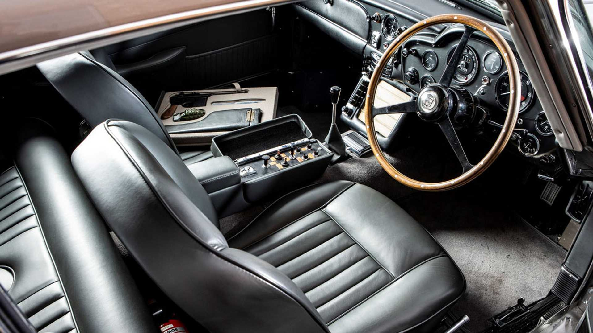 "[""James Bond DB5 With Functional Q Gadgetry Hammers for $6.4 million""]"