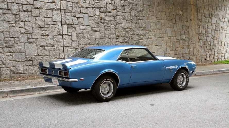 Cure The Blues With This 1968 Chevrolet Camaro In LeMans Blue Metallic