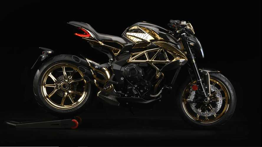 Mysterious Customer Commissions Gold MV Agusta