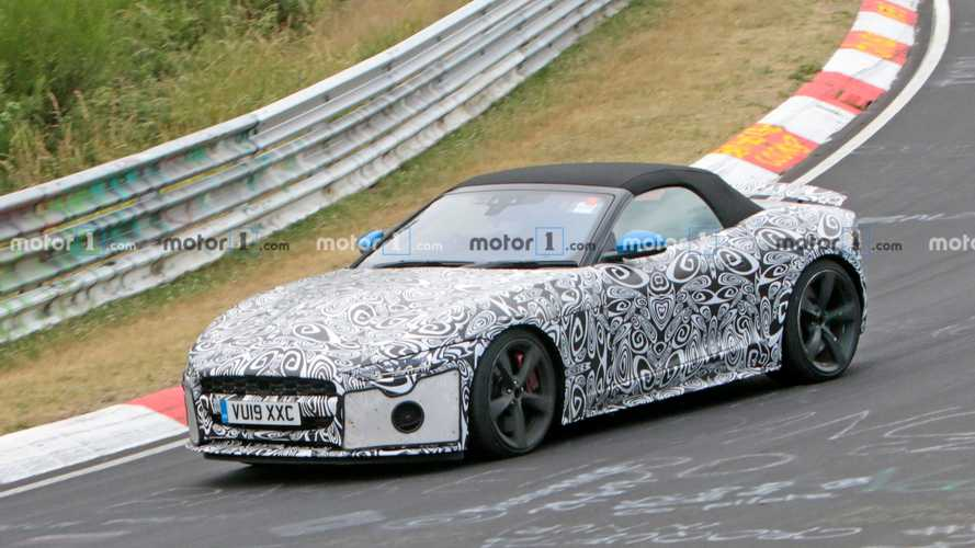 El restyling del Jaguar F-TYPE llegará en 2020 (fotos espía)