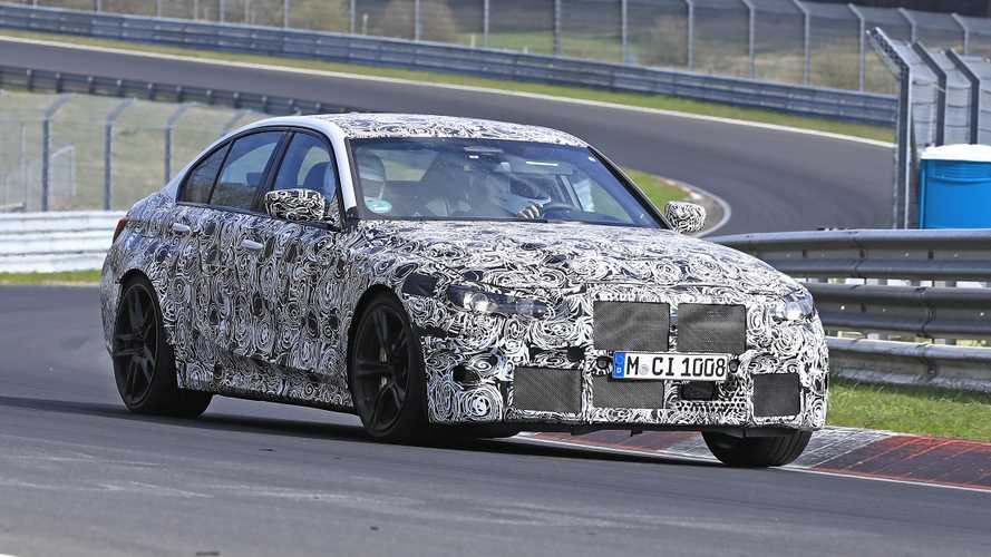 2020 BMW M3 spied enjoying a spring jaunt at the Nürburgring