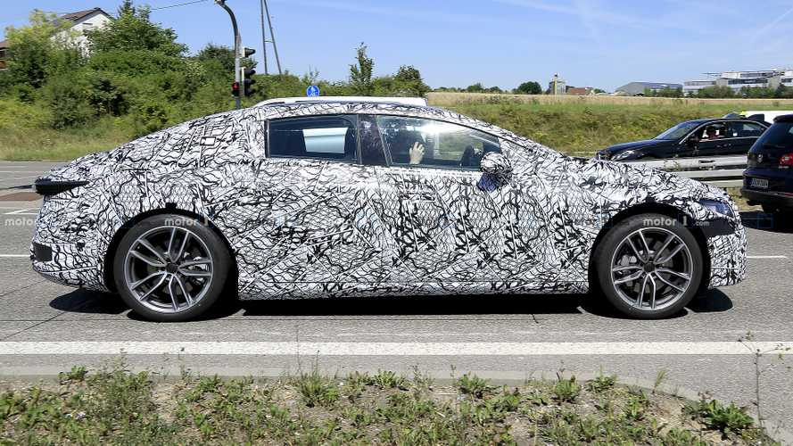 2021 Mercedes EQS spy photo | InsideEVs Photos