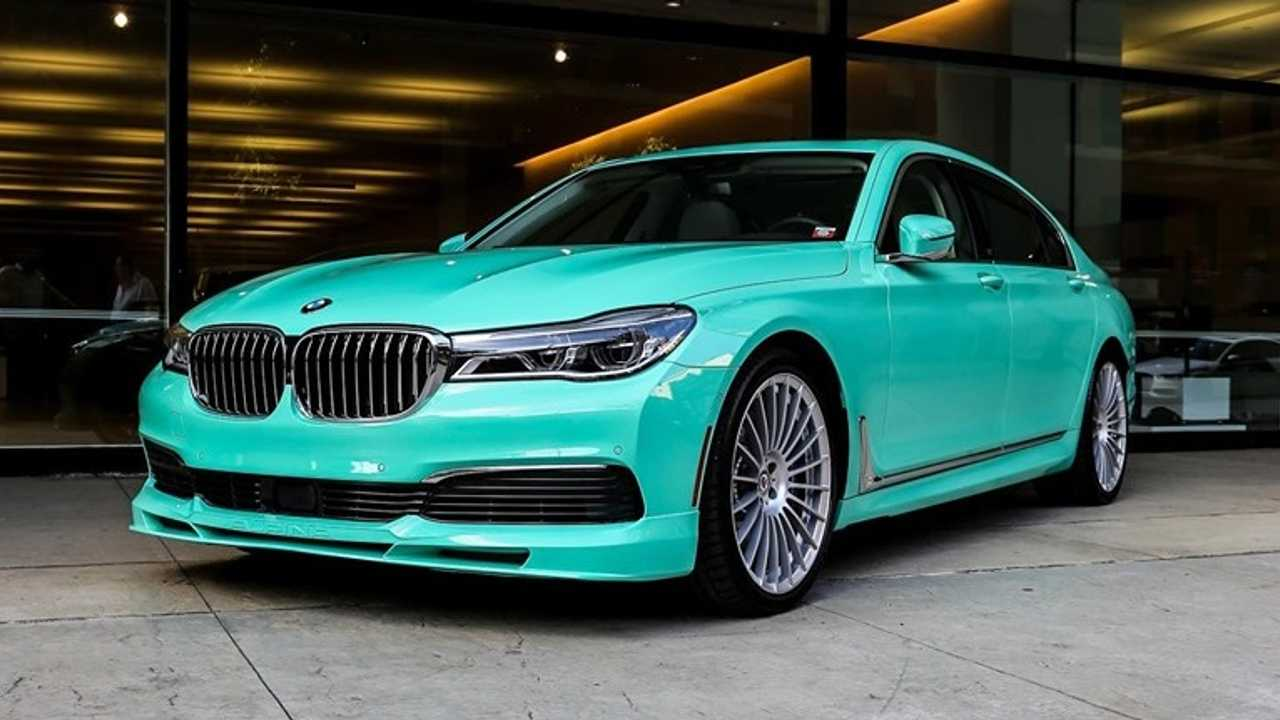 One-Off Alpina B7 In Mint Green Delivered To U.S. Customer