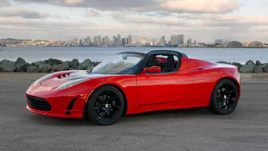 Le premier Tesla Roadster sera exposé à Chantilly
