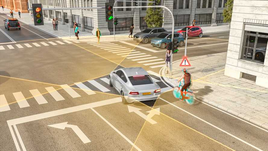Continental right turn assist