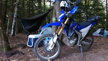 how to motorcycle camp