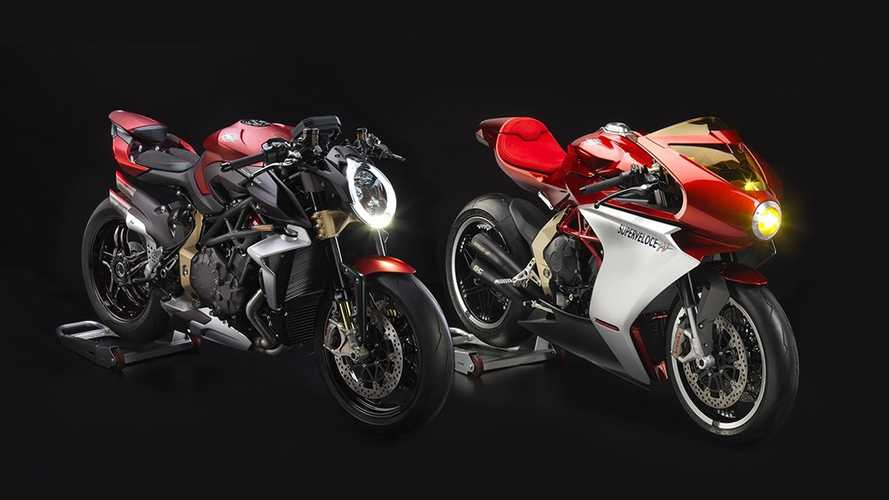 MV Agusta: sold-out le nuove Serie Oro
