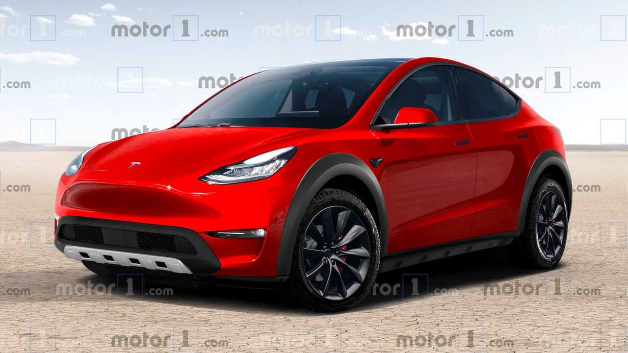Tesla Model Y Off-Road Render