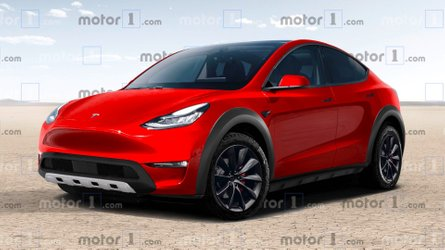 Tesla Model Y Reimagined As A Rugged Off-Roader