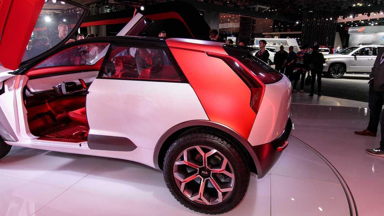 Concepto de Kia Habaniro en el Auto Show de Nueva York
