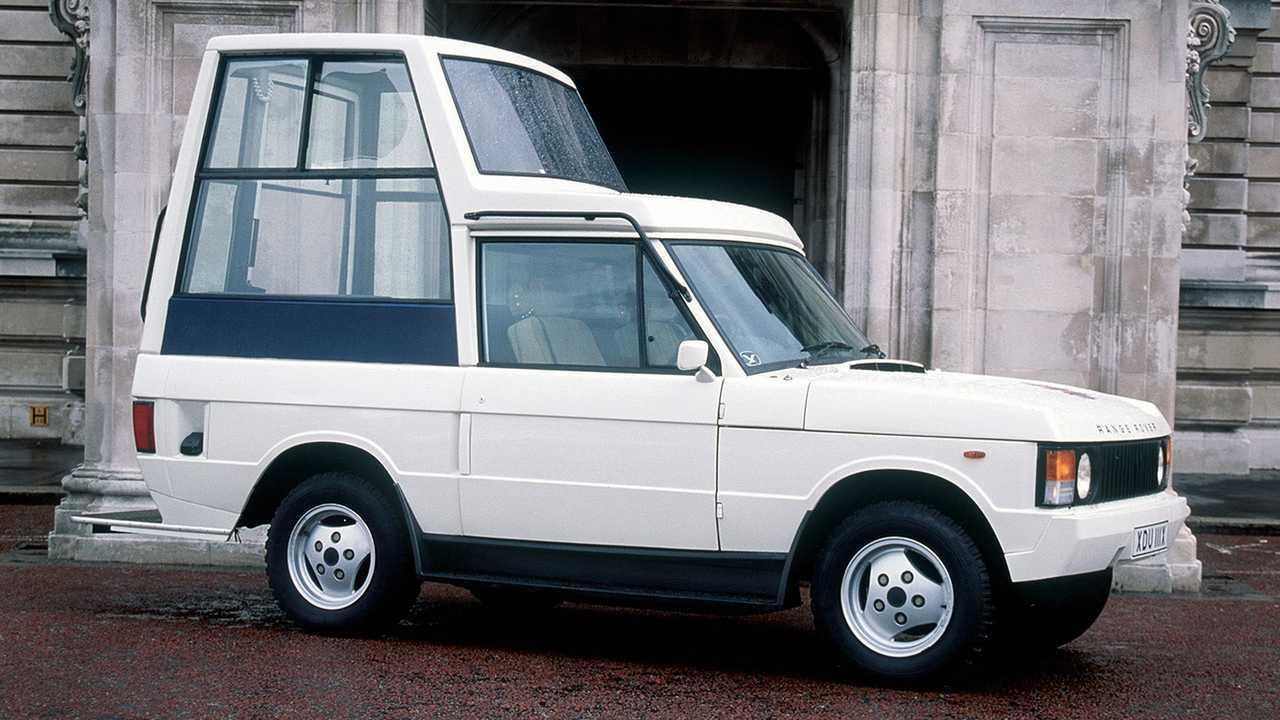 1984 год - Range Rover