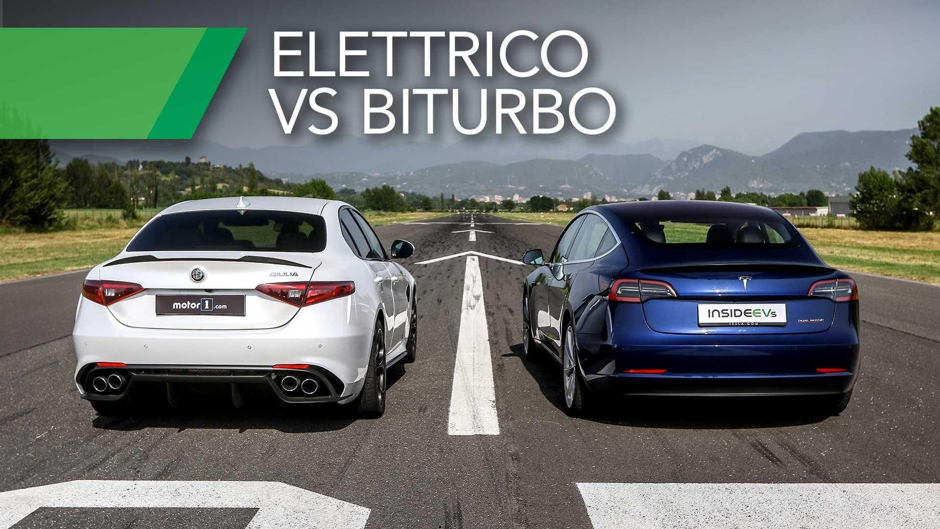 Tesla Model 3 Vs Alfa Romeo Giulia Quadrifoglio: Future Vs Present