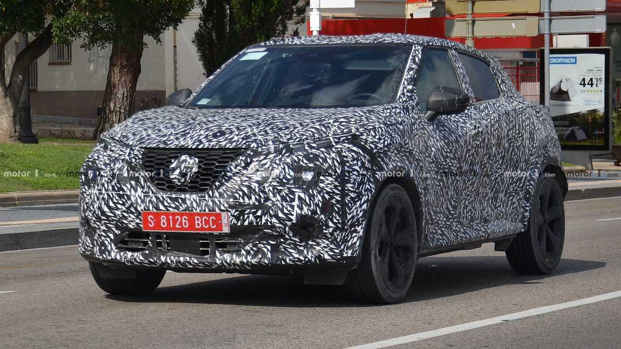 Nissan Juke 2020 nuevas fotos espía