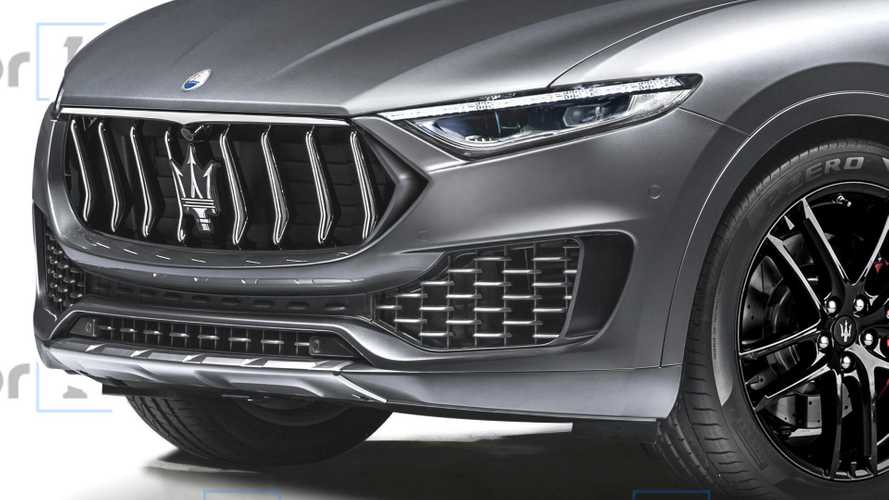 Render Maserati Baby Levante