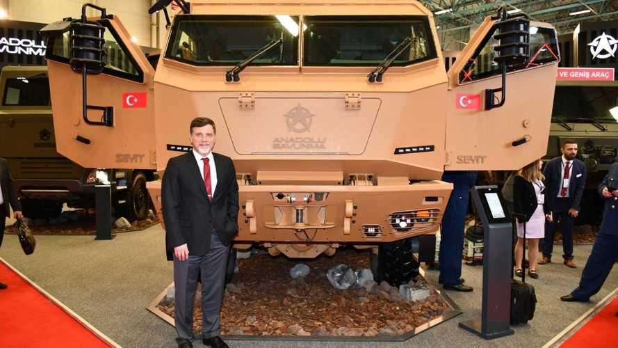 Anadolu Isuzu, yeni markası Anadolu Savunma'nın ilk aracını tanıttı