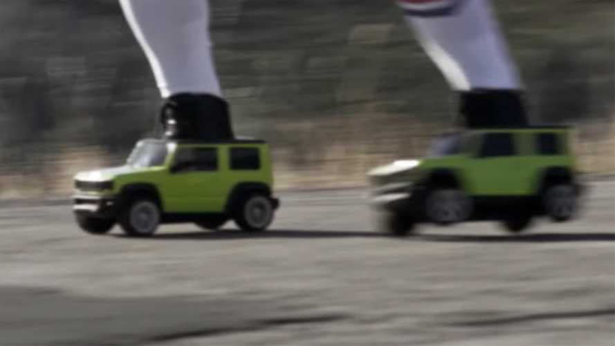 Suzuki Jimny roller skates ad is as quirky as the SUV itself