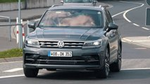 vw tiguan r spy video