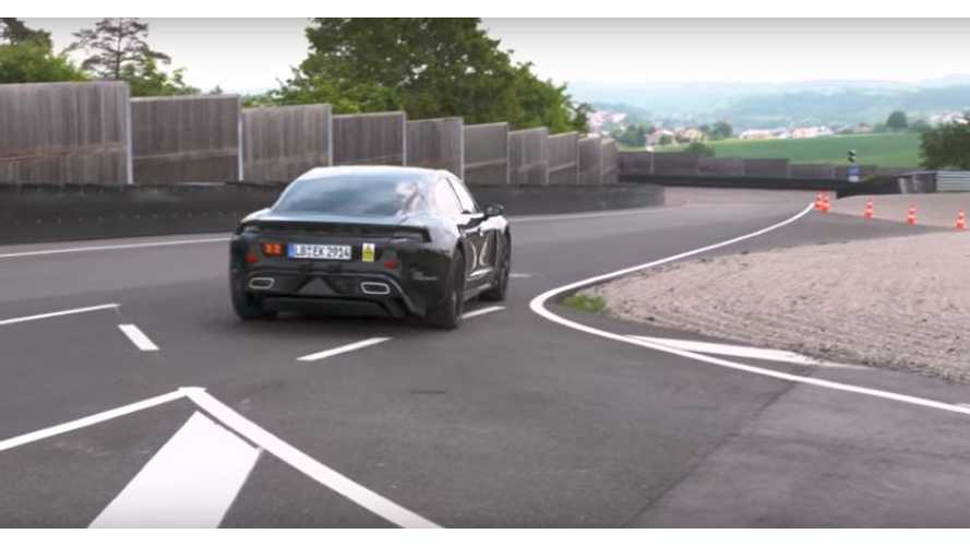 Porsche Mission E Called 'Stealth In Motion' - 592 HP Confirmed