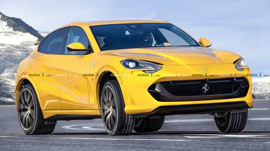 Ferrari Purosangue SUV Rendered To Take On Lamborghini Urus