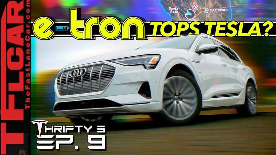 In What Ways Does The Audi E-tron Best The Tesla Model 3? Video