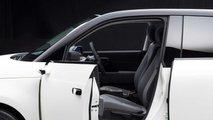 Honda e (2020): Bilder von der Rückspiegel-Kamera