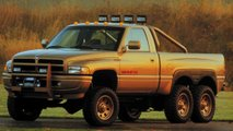 1996 dodge ram t rex 6x6 zabytye kontsept kary